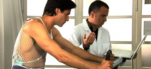 Revisión médica con prueba de esfuerzo